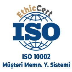 ISO 10002 - Müşteri Memnuniyeti Yönetim Sistemi