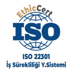 ISO 22301 - İş Sürekliliği Yönetim Sistemi