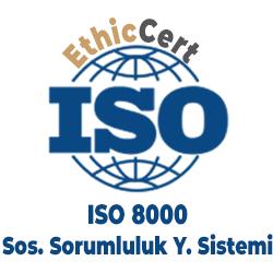 ISO 8000 - Sosyal Sorumluluk Yönetim Sistemi